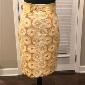 Yellow and Gold skirt